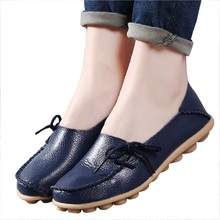 Hot Sale Woman Flat Shoes Breathable Soft Bottom Wild women flats Spring And Autumn female Loafers Chaussure Mujer GT179