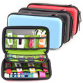 New Arrival Hard Drive Earphone Cables Usb Flash Drives Storage Travel Case Digital Cable Organizer Bag