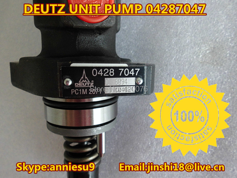 Genuine Deutz 04287047--Deutz original unit pump 04287047 for Deutz 2011 engine(China (Mainland))