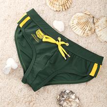 Mens Sexy Swimwear Swimsuits Brief Beach Sea Swimming Briefs for Men Board Surf Swim Wear bikini triangular gay Seobean brand(China (Mainland))