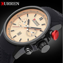 2015 NEW CURREN Luxury Analog Fashion MEN WATCH SPORT STYLE MEN MILITARY WRIST WATCH for MEN QUARTZ SWISSS ARMY quartz watches