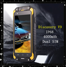 Outdoor GuoPhone V9 IP68 waterproof shockproof phone MTK6572 mobile phone  Android 4.4 4.5' GuoPhone V9 Smartphone Dual SIM(China (Mainland))