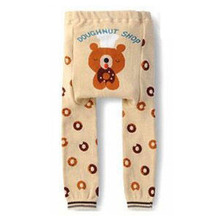 New Animal Pattern Baby Boy Girl Toddler Leg Warmer PP Pants Bottom Trousers For Free Shipping