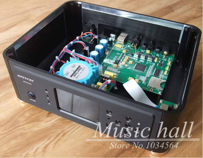 Music hall 2015 Improved FPGA Lossless digital turntable player APE FLAC WAV DSD HIFI 192K 24bit(China (Mainland))