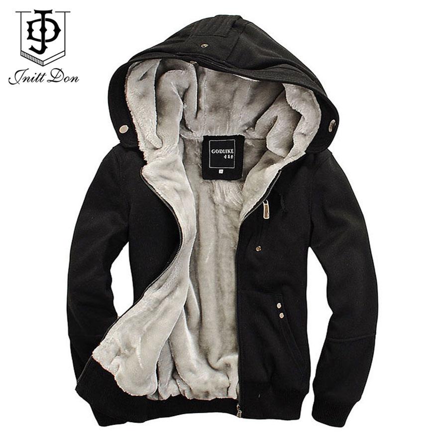 M-5XL,2015 winter casual men hoodies hoodi sweatshirt hooded jackets coat man hoodi warm plus thick fleece hoodies men's WY100(China (Mainland))