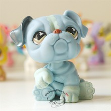 LPS Pet Shop Animal Sitting pug action Figure