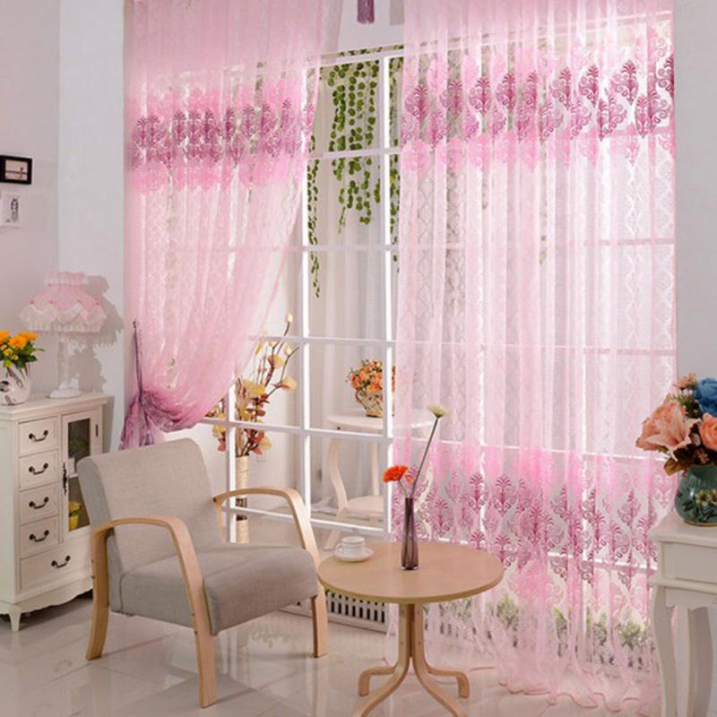Warm Home Designs Rose Pink Window Scarves Sheer Light: Light Pink Curtain Panels Promotion-Shop For Promotional