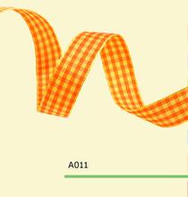 5/8″ Inch 15mm tartan plaid ribbon