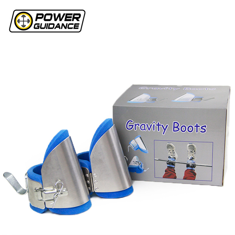 gravity guiding system inversion boots
