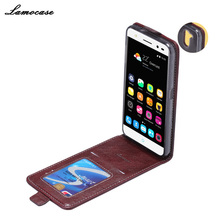 Wallet Flip PU Leather case cover ZTE Blade V7 Lite capas Embossing Vertical coverV7 Phone Bag - Lamoxin store