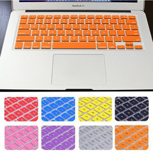 2015 US version Silicone Keyboard Skin Cover Film For Apple Macbook Pro Retina 13″ 15″ 17″Protector Cover for Mac book Air 13.3