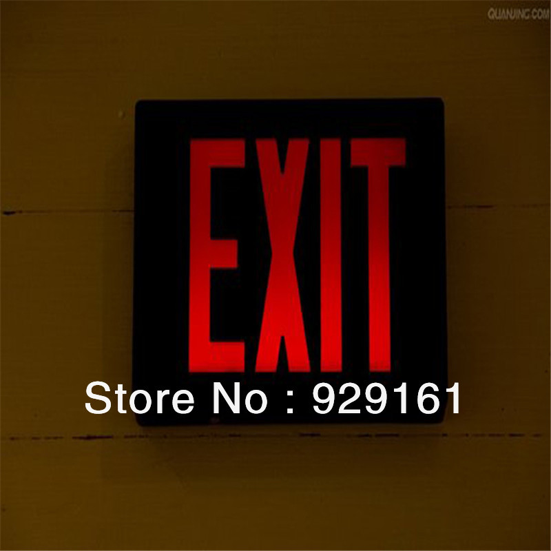 Rechargeable LED Emergency fire Exit Sign(China (Mainland))