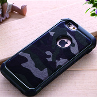 Camouflage Case for iPhone 4 Case Silicone case Protection for iPhone 4S Luxury Cover Silicone Pouch iPhone4s Coque Back Cover