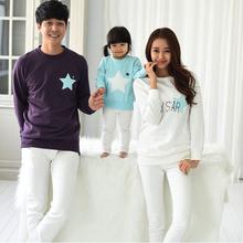 Мама и я одежда мать отец ребенка хлопка семья посмотрите полный рукав смотрит мои звезды семья соответствующие наряды(China (Mainland))