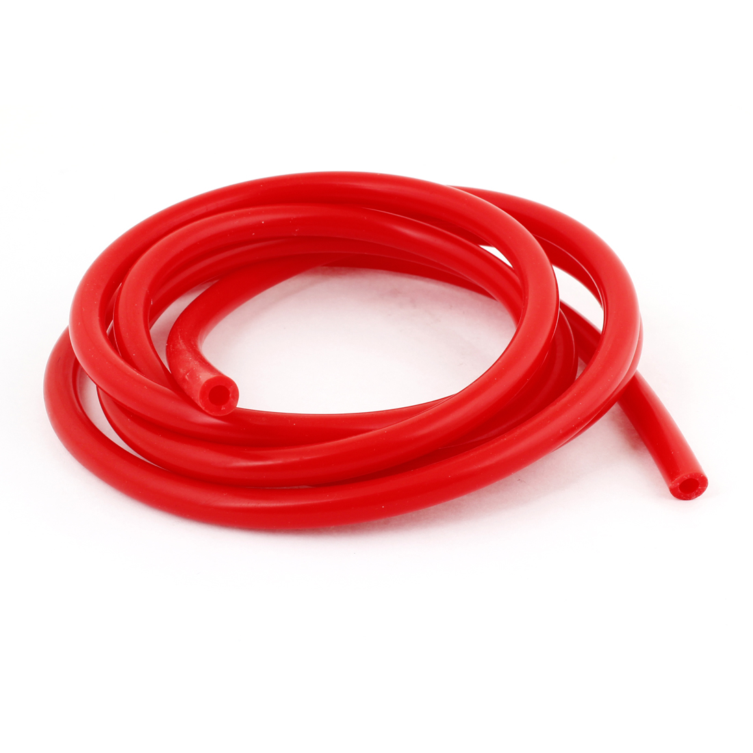 2M Long 4mm Inner Dia 8mm OD Red Silicone Vehicle Car Vacuum Hose Tubing Pipe(China (Mainland))