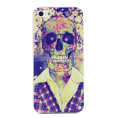 PC Skull in Suit Pattern Hard Case with Black Frame hard durable retro phone cover for iphone 4 4s 5 5s 5c 6 6 plus(China (Mainland))
