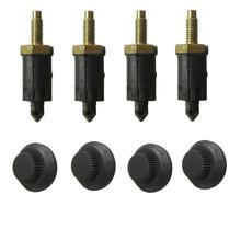 HDI Engine Cover Bolt Bonnet Hood Clip Kit For CITROEN /PEUGEOT 306 307 406 Metal(China (Mainland))