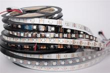 individually addressable 1m 5m waterproof ip65 ip67 5050 rgb 30 60 144 led/m 5v ws2811 ws2812 ws2812b led strip(China (Mainland))