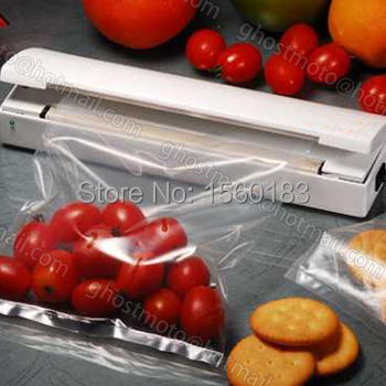Free Shipping Hot Sale High Quality Reseal Save Save Airtight Plastic Bag Portable Sealer Capper Preserve Food As Seen On TV(China (Mainland))