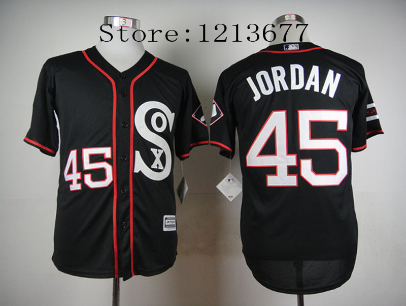 Aliexpress.com : Buy 45 Michael Jordan Jersey Chicago White Sox