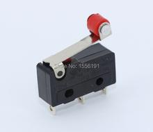 20 шт. 3pin все предел переключатель N / on / C 5A250VAC KW11-3Z Mini микро-карты переключатель с шкива