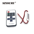 SZYOUMY MINI 11 Key Remote LED Controller DC 11 Keys Mini LED Dimmer For Single Color