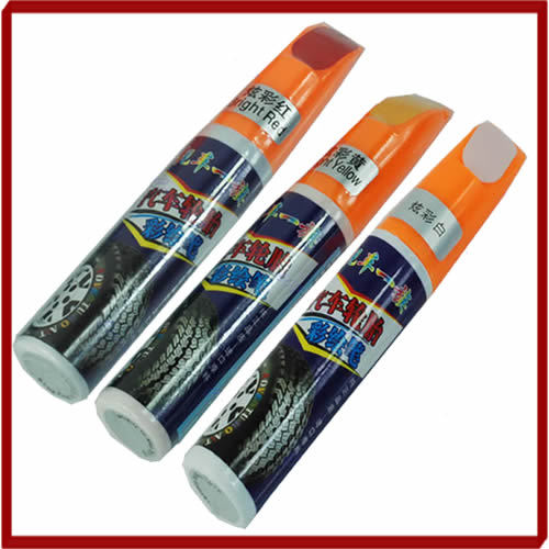 Car Scratch Pen Auto Motorcycle Tyre Tire Tread Touch Up Marker Paint Pen Red,White,Yellow Drop Shipping(China (Mainland))