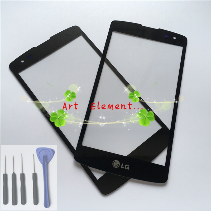 For LG L Fino F60 D392 D290 D290N D295 D390 MS395 Front out LCD Glass Lens cover (not LCD and touch screen) + Tools(China (Mainland))