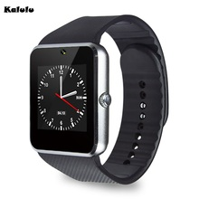 Buy Popular GT08 smart watch Clock Sync Notifier Sim Bluetooth Smartwatch Apple IOS huawei Samsung Android Phone PK DZ09 A1 for $16.96 in AliExpress store