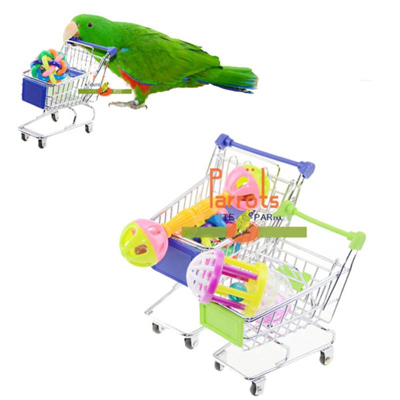 Забавный супермаркет корзина домашние игрушки попугай ара Cockatiel спиночес хранения птицы владельца игрушки