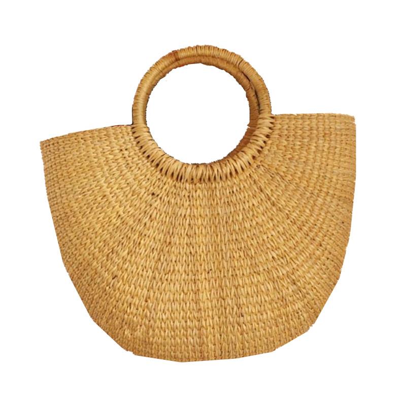 Simple Bags Handbags Women Famous Brands Straw Woven Beach Bag Female Bags Designer Handbags High Quality Hobos Bag CSYT0606(China (Mainland))