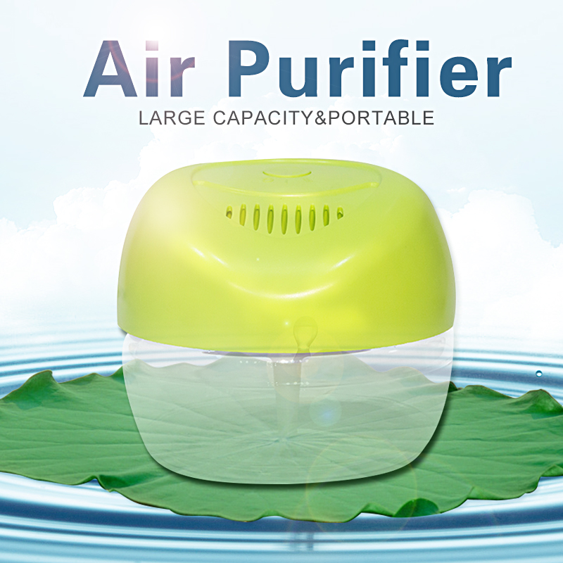Large Capacity 2150ml Apple-shaped Household Water Air Purifier Portable Purificador De Aire Freshener Air Cleaner KS-03CL(China (Mainland))