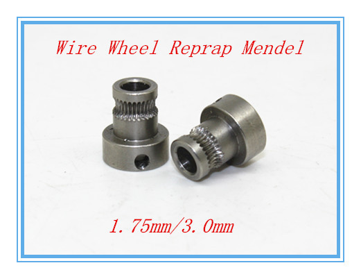 5 pcs 3d printer feed wheel extruded wire wheel push wire wheel feed rollers feed rolls