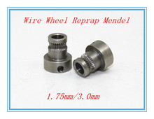 5 pcs 3d printer feed wheel / extruded wire wheel / push wire wheel / feed rollers / feed rolls / reprap Mendel / 1.75mm/3.0mm
