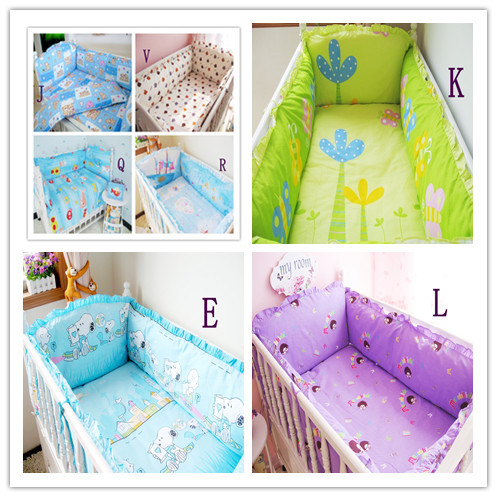 New Arrival 2015 High Quality Baby Product,Both Safety and Healthy Kid Accessory,Baby Bed Set,Embroidery Character Baby Crib Set(China (Mainland))
