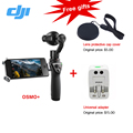 DJI OSMO Handheld 4K Camera With DJI FM-15 Flexi Microphone and Stabilizer Original phantom 3 3-Axis Gimbal Free EMS DHL