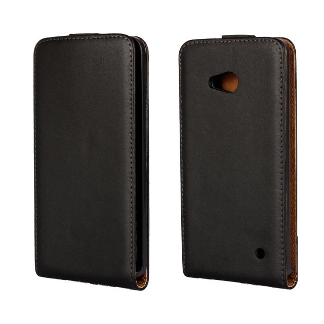 For Microsoft Lumia 640 Case Business Luxury Retro PU Leather Case for Nokia Lumia 640 Vertical Flip Phone Back Phone Cover(China (Mainland))
