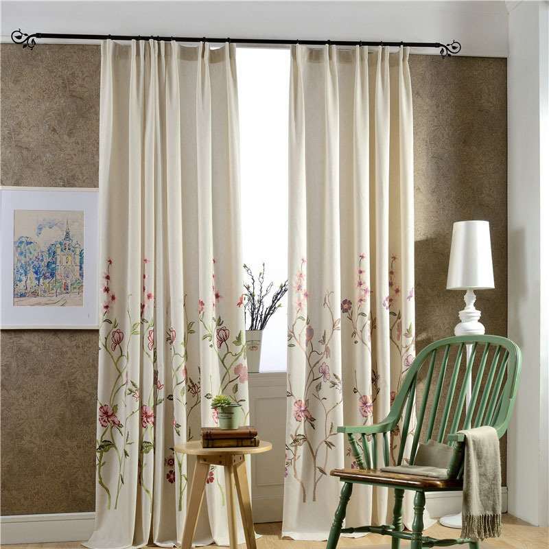 New Arrivals Curtains For Living Room Kitchen Cloth And