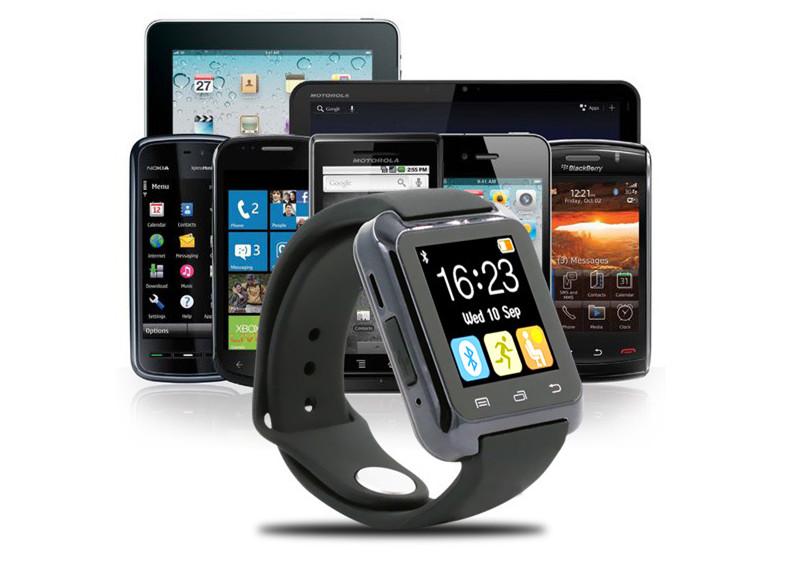 Bluetooth Smart Watch Wrist Watch cell phone U80 Watch relojes deportivosfor Xiaomi Samsung Huawei S4/Note 2/Note 3 HTC LG(China (Mainland))