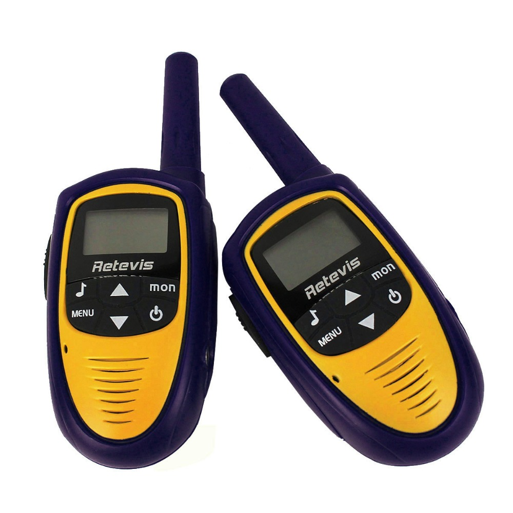 2PCS Retevis RT31 Children Walkie Talkie 22CH 0.5W UHF462.5625-467.7250MHz LCD Display Two Way Radio Kids A9112L US Frequency(China (Mainland))
