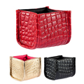 New PU Empty Makeup Organizer Lipstick Make Up Brushes Cosmetic Bag Storage Holder Case Stand Bags