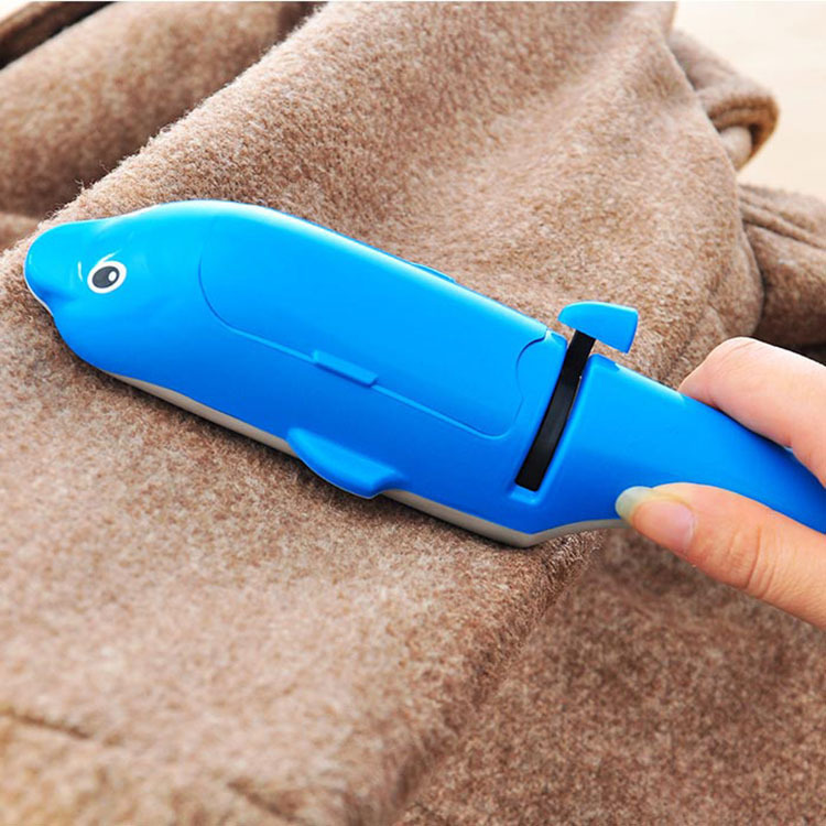 Sticky Buddy Pet Fur Picker Hair Dust Remover Cleaning Home Clothes Cleaner Lint Rollers Cute Dolphin Fluff Brushes Free Ship(China (Mainland))