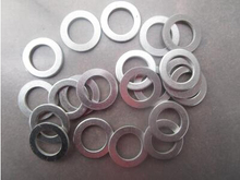 200pcs/ lot High Quality 12*18*1mm aluminum flat washer  Aluminum sealing ring m12*18