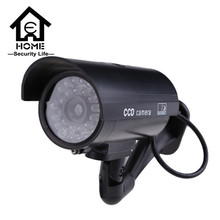 Security Dummy Camera Outdoor Fake Cameras For Home cctv Camera With Flash Red LED Waterproof cctv camera 1pcs(China (Mainland))