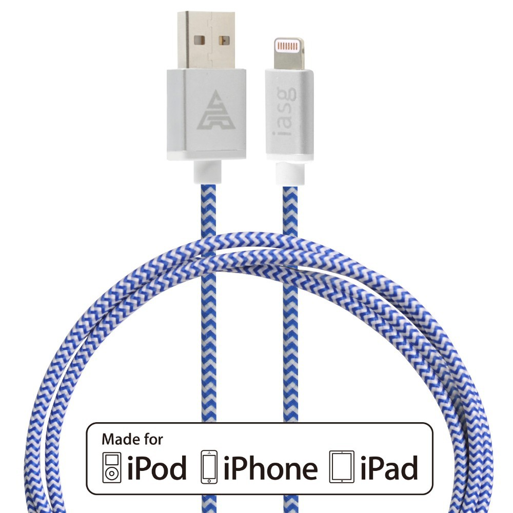 MFI 100% CACOY USB Data Sync & Charging Cable for iPhone 5 5S 5C 6 Plus iPad 4 mini Air 2 data transfer charge cable line 1M(China (Mainland))