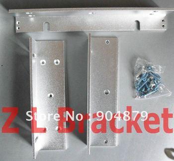 Best Price Z&L Bracket Type Electromagnetic Lock Bracket for 180KG/280KG Inward door Magnetic Lock with wooden metal door used