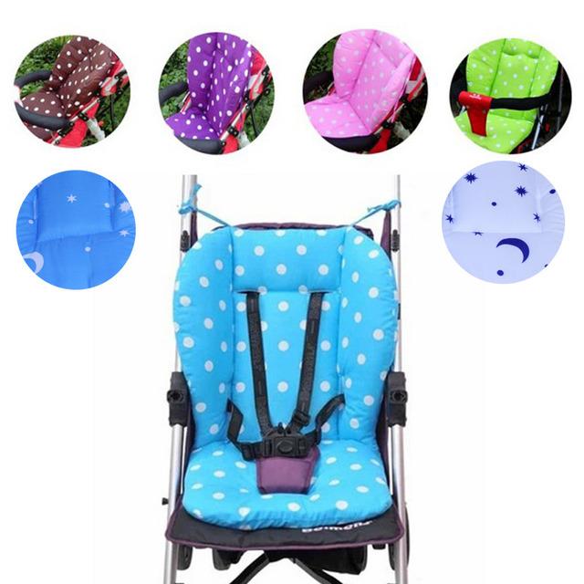 Разноцветные подушки на детские кресла и коляски