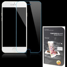 For iPhone 6 6S 4.7 Inch Explosion Proof 2.5D Curved 0.26mm 9H Premium Real Tempered Glass Film Screen Protector Free Shipping