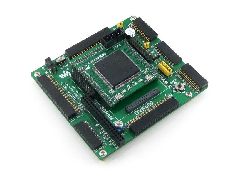 XILINX FPGA Development Board Xilinx Spartan-3E XC3S500E Evaluation Kit+DVK600+ XC3S500E Core Kit = Open3S500E Standard(China (Mainland))