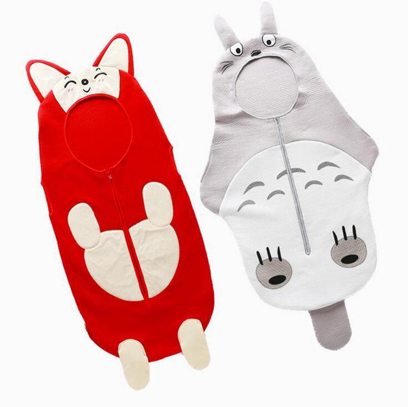 New Design Baby Sleeping Bag Cocoon Design Doraemo Cartoon Totoro Sleeping Bag For Baby Newborn 0-12 Months Anti-kick Blanket(China (Mainland))